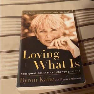 Loving what he Byron Katie book